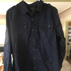 Guess Long sleeve shirt with zipper pockets